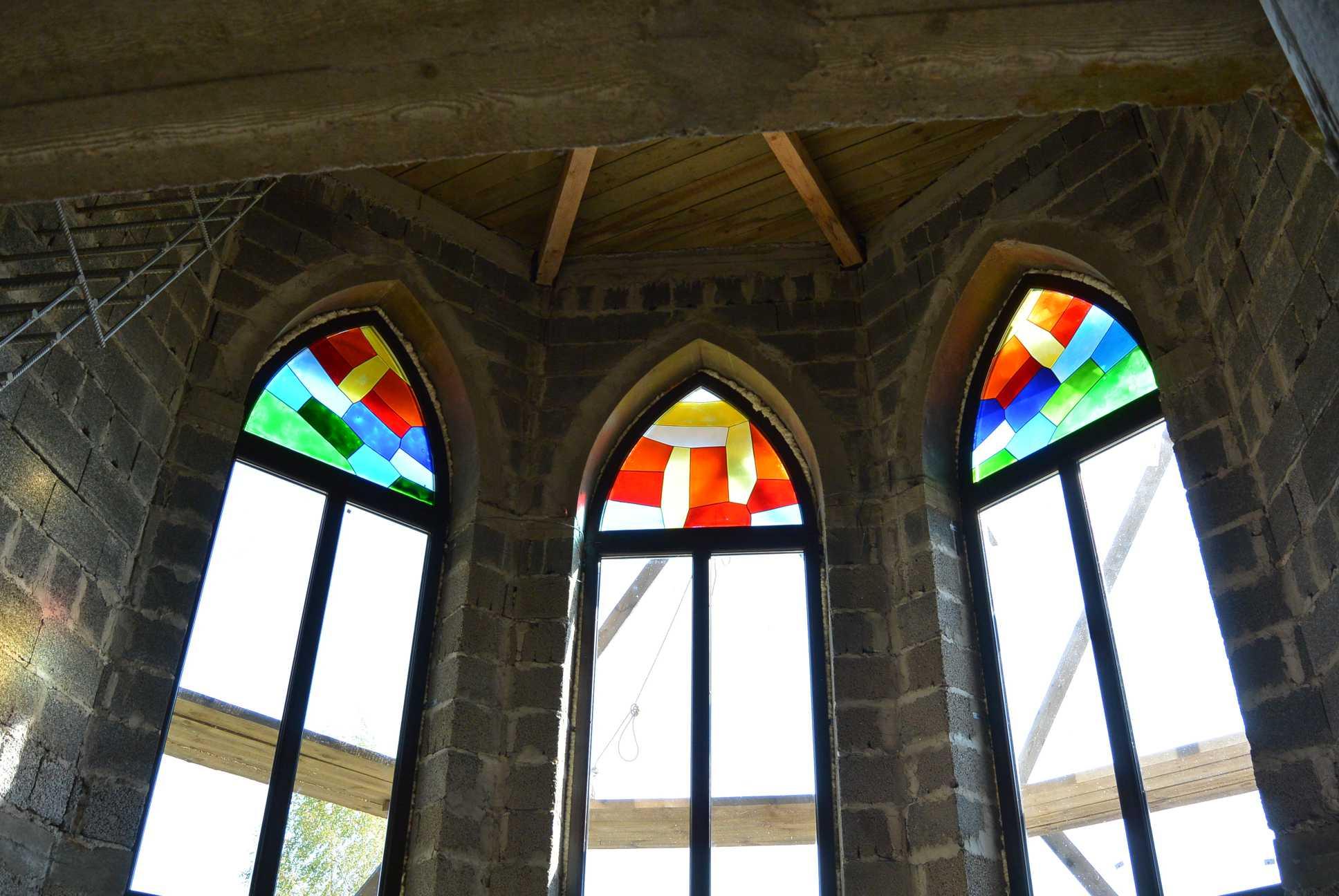 Куполообразные пластиковые окна
