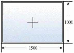 Глухое окно 1500 на 1000