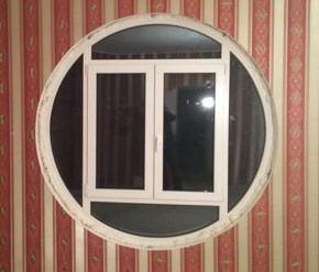 Круглое окно Rehau Delight