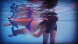 Underwater point of view
