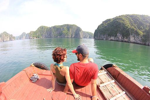 Bitácoras de mochileo en Halong Bay