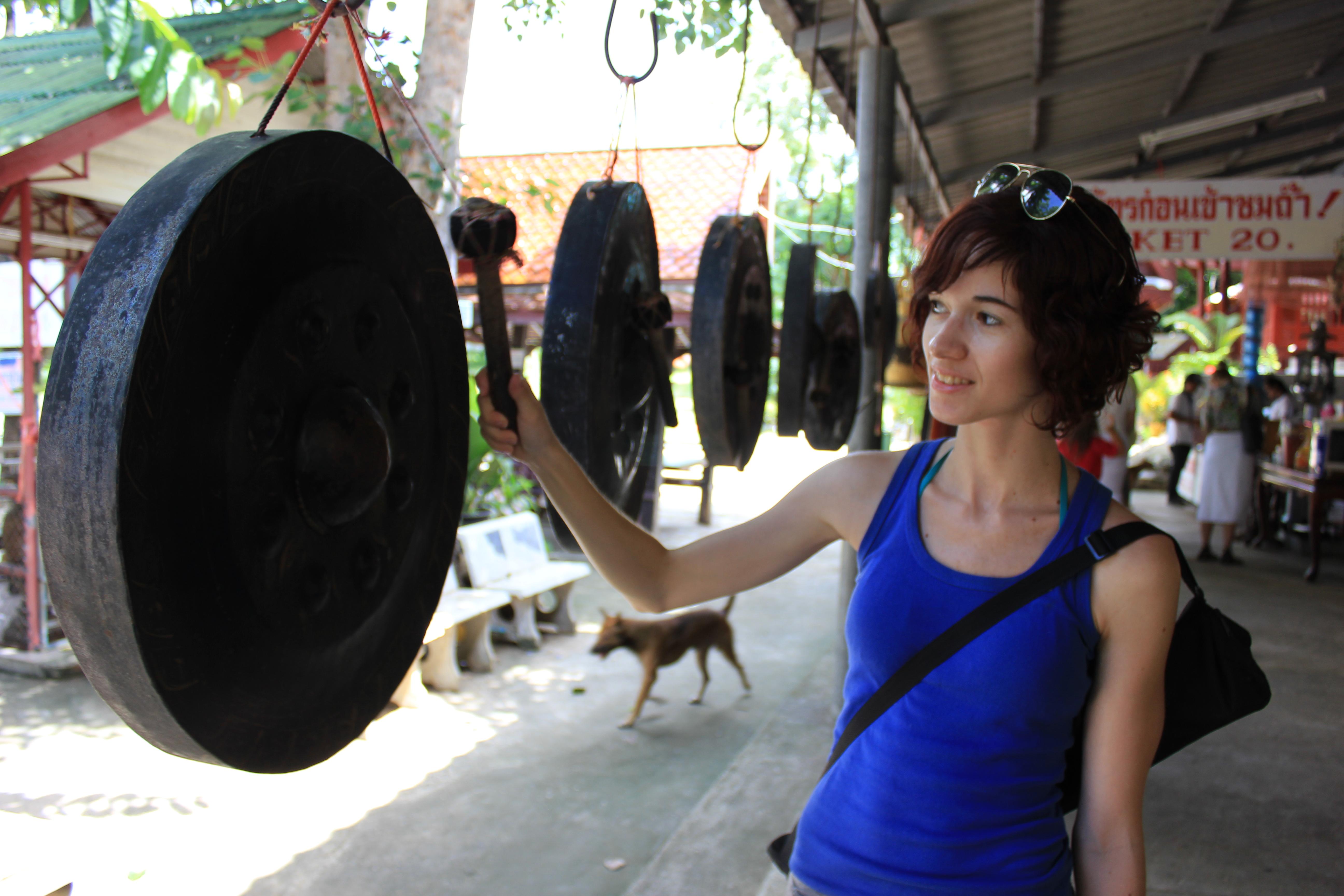 Existe una técnica para el gong