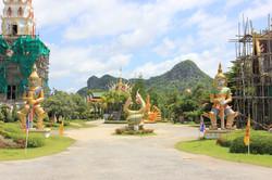 Templo en construcción