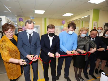 В Слободо-Туринском муниципальном районе после ремонта открылась детская поликлиника