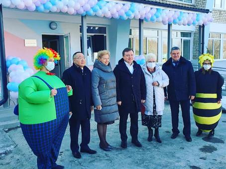 Торжественное открытие детской поликлиники Слободо-Туринской районной больницы