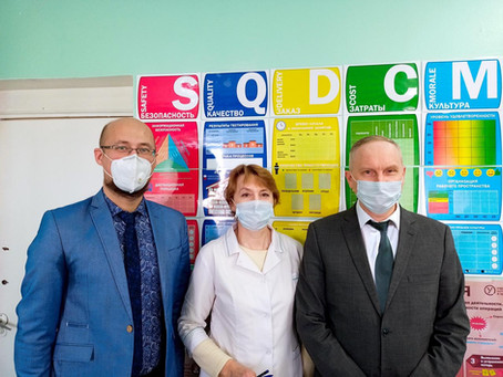 Свердловские медики приняли участие в инновационном тренинге «Фабрика процессов»