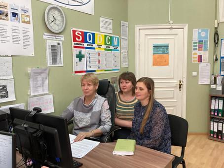Онлайн совещания с больницами Свердловской области продолжаются.