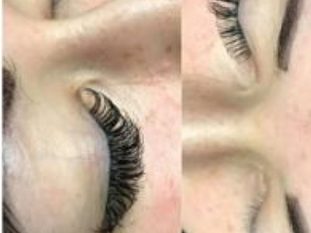 Semi permanent lash by our beautician Olivia