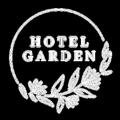 Logo Hotel Garden Vlore white transparen