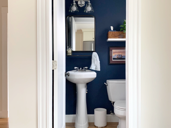Before and After: Powder Room Redo
