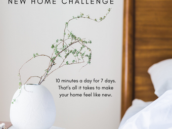 New Year, New Home Challenge: Day 1
