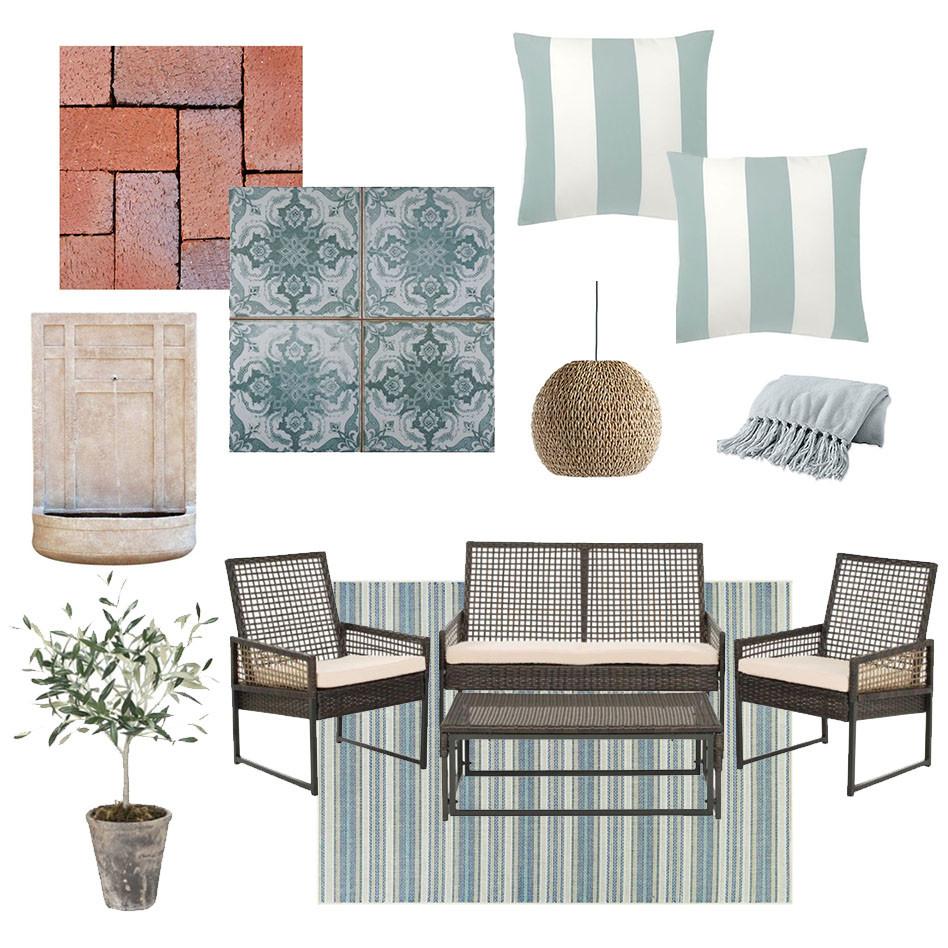 Mediterranean outdoor space