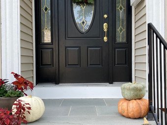 DIY Fall Front Porch