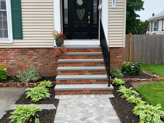 Before and After: Front Stoop Facelift