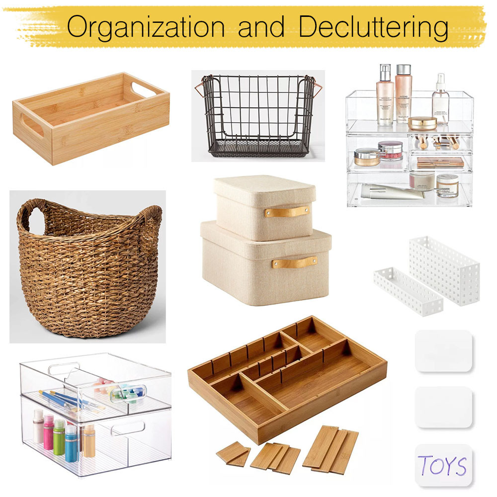 shop the look, organization and decluttering picks
