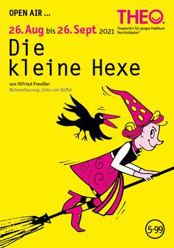 Die kleine Hexe - THEO Postkarte 20/21