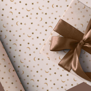 Wrapping paper pattern preview