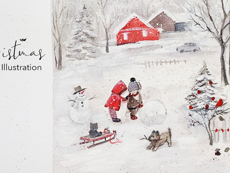 Happy Holidays from Stream of Dreams Design!