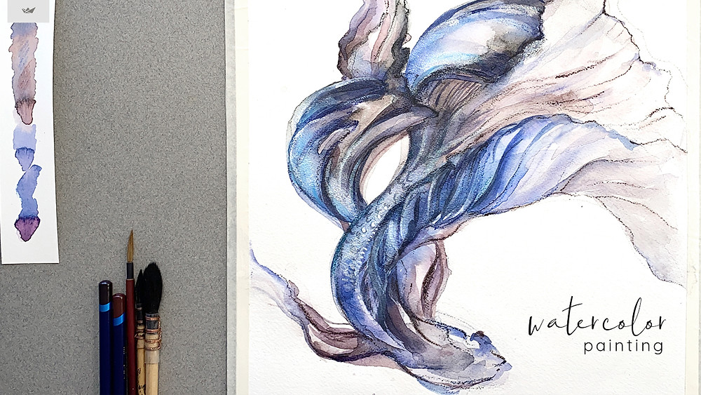 Betta Fish Illustration