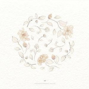 Floral ClipArt Illustrations