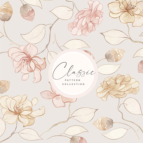 Classic Floral Pattern Design Collection
