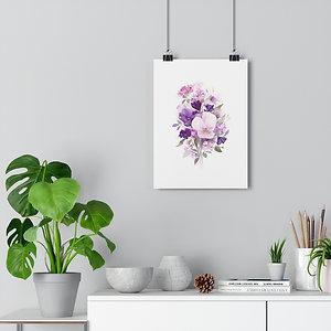Watercolor Flowers Giclée Art Print