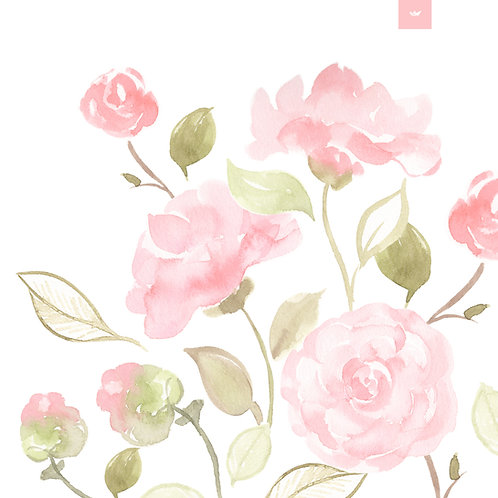 Pink Camellia Pattern Collection