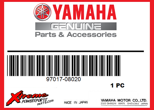 Yamaha 97017-08020-00 - BOLT HEXAGON