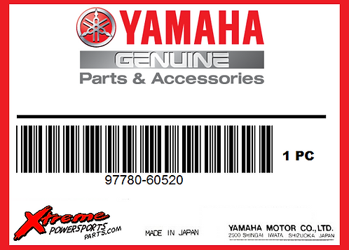 Yamaha SCREW 97780-60520