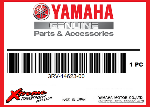 Yamaha 3RV-14623-00 GASKET,EXST PIPE
