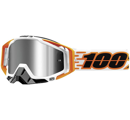 100% Racecraft Plus Goggles; Illumina w/Silver Flash Lens