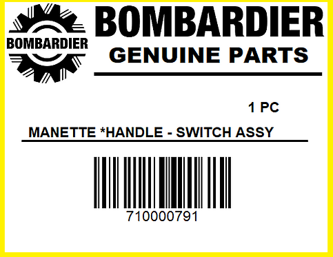 Can-Am Bombardier 710000791 Multi Function Switch