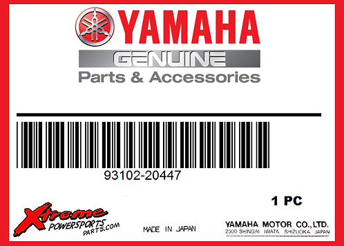 Yamaha 93102-20447 - OIL SEAL