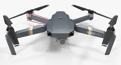 DJI Mavic Pro Rear Right Wing Arm Replacement Service