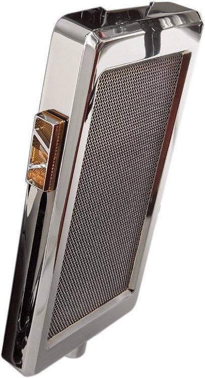 Show Chrome Mesh Radiator Grill 55-302 VTX1300C/S/R
