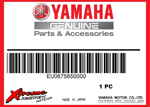 Yamaha EU0-67565-00-00 - THRU-HULL EXHAUST TIP