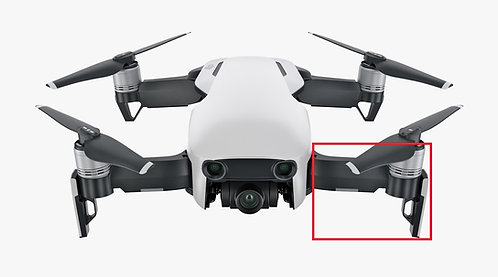 DJI Mavic Air Front Left Arm Wing Repair Service