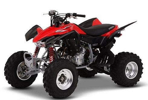 HONDA TEST ITEM ATV TRX400X 2016