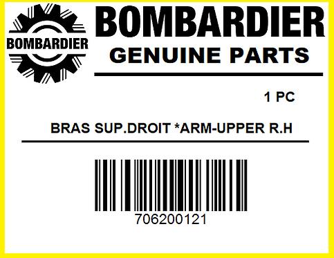Bombardier 706200121 BRAS SUP. DROIT *ARM-UPPER R.H