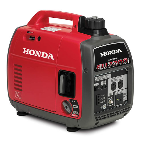 Honda EU2200i - Light Weight Mobile Drone Charging