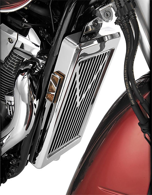 Show Chrome Accessories (53-419) V-Star Radiator Grille