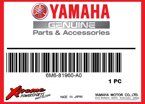 Yamaha VOLTAGE REGULATOR RECTIFIER 6M6-81960-A0