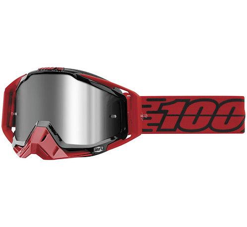 100% Racecraft Plus Goggles; Toro w/Silver Flash Lens