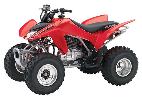 HONDA TEST ITEM ATV TRX250X A 2011