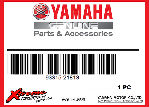 Yamaha 93315-21813-00 - BEARING