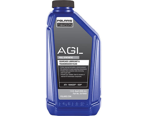 Polaris AGL Synthetic Gearcase Lubricant and Transmission Fluid, 1 qt.