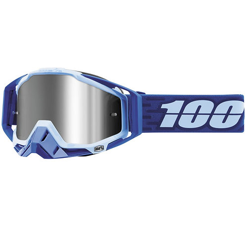 100% Racecraft Plus Goggles; Rodion w/Silver Flash Lens