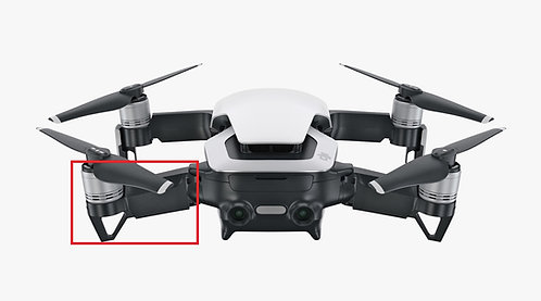 DJI Mavic Air Rear Left Wing Arm Replacement Service