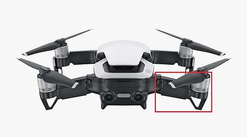 DJI Mavic Air Rear Right Wing Arm Replacement Service