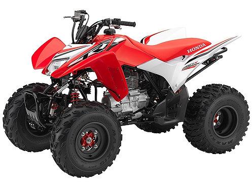 HONDA TEST ITEM ATV TRX250X 2017